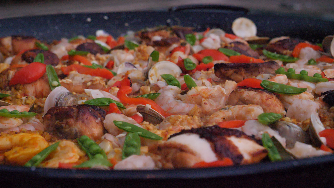 Poolside Paella With Tyler Florence Sous Vide Recipe Chefsteps