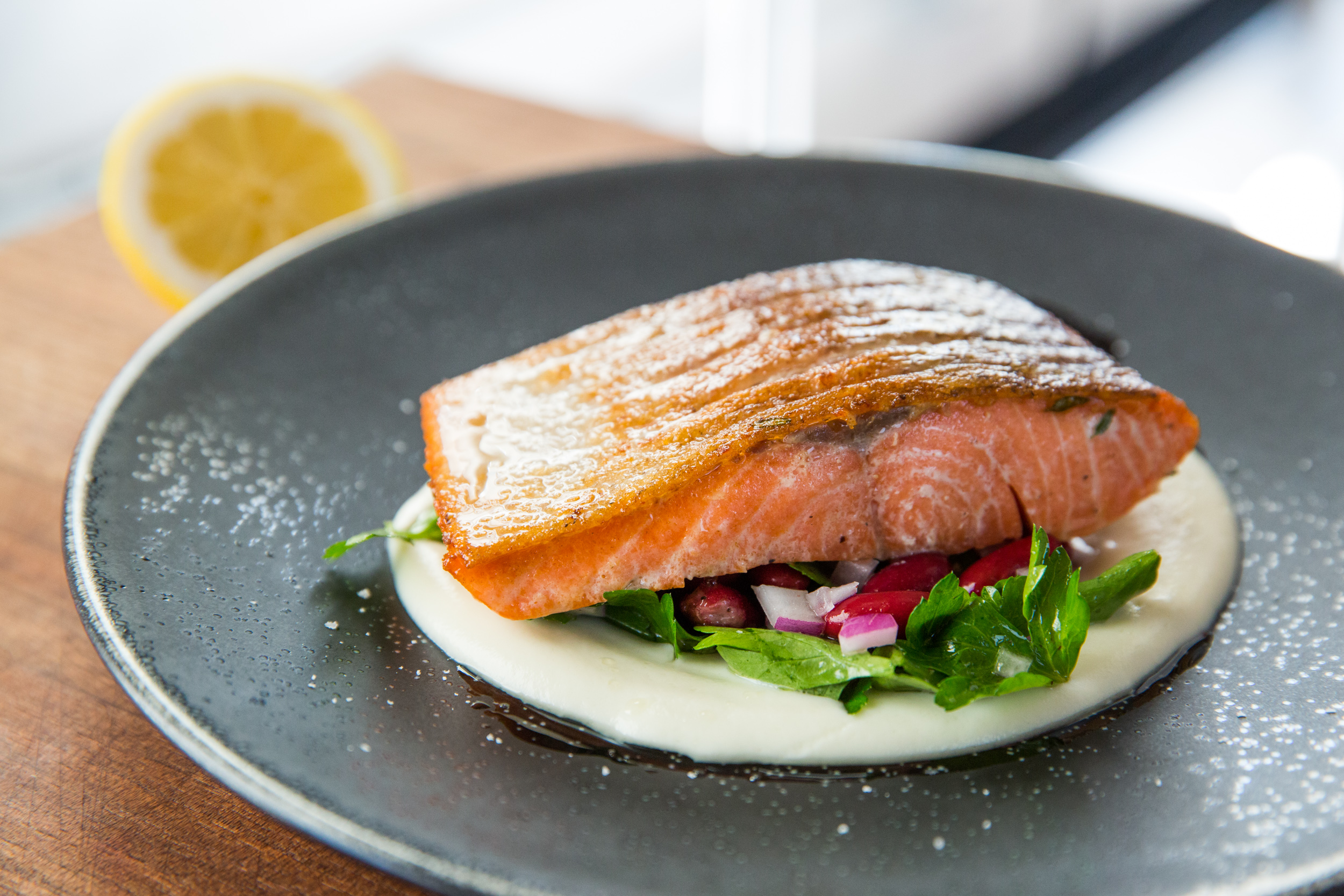 Amazing dish - pink salmon in the oven 94