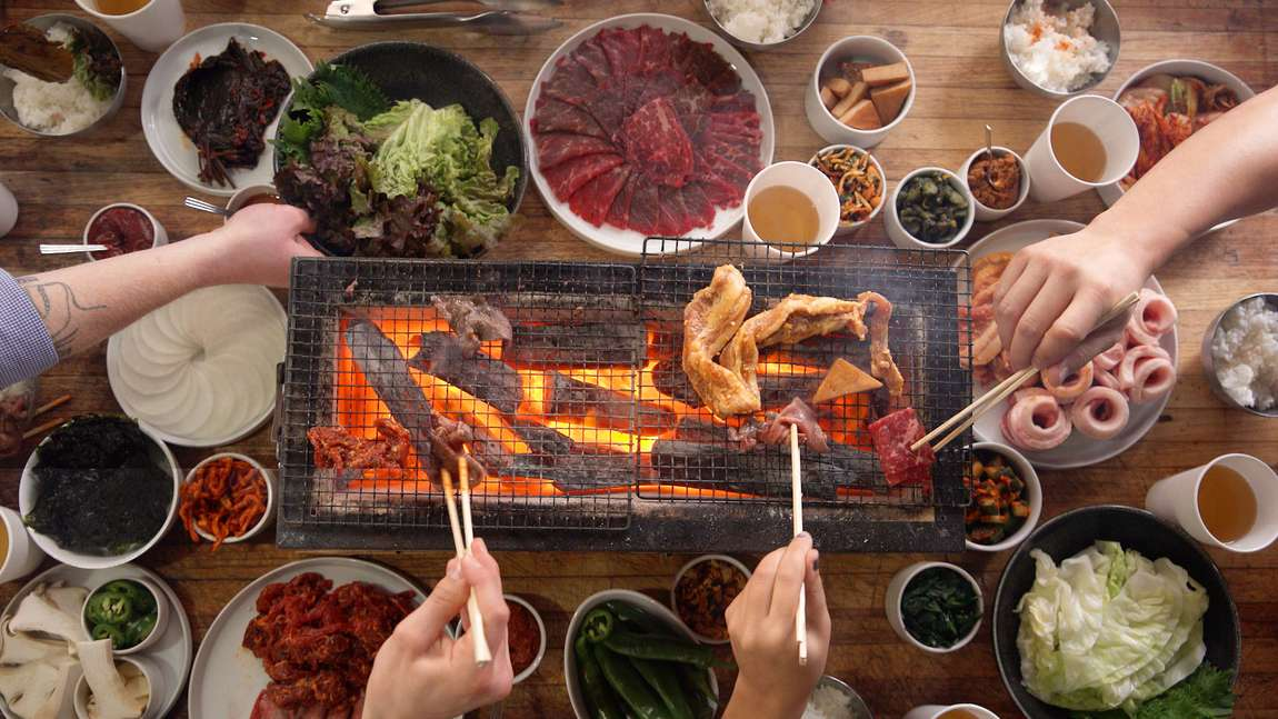 Good Quality New De Korean Restaurant Table Top Bbq Grill