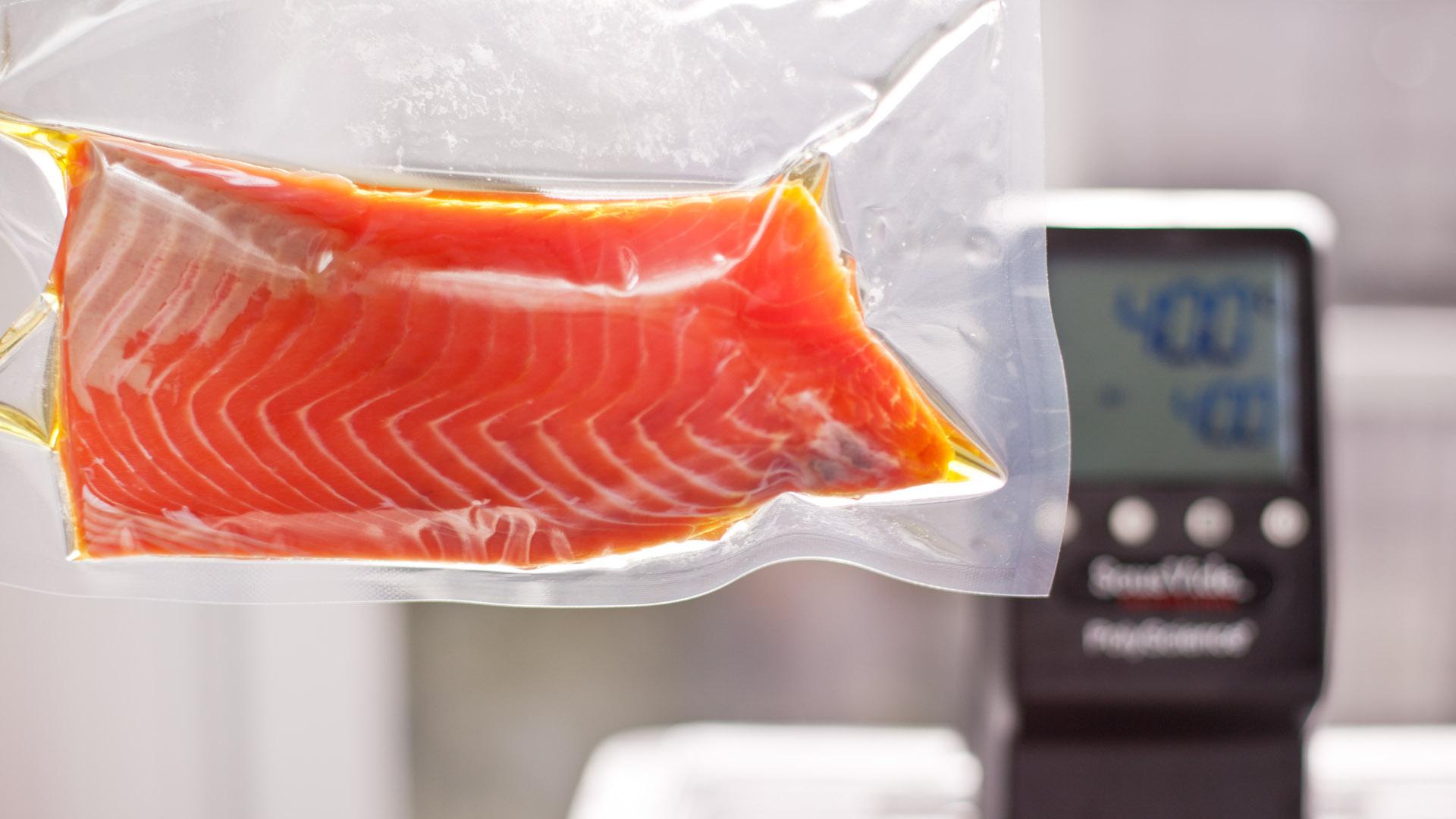 Salmon Mi Cuit Sous Vide Recipe Chefsteps