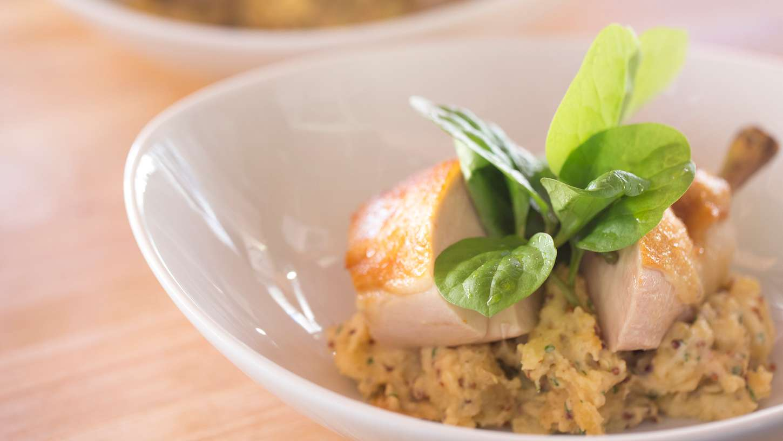 Chicken Breast With Warm Mustard Potato Salad | Recipe ...