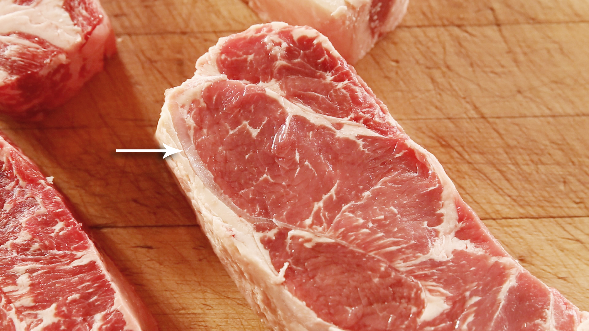 Removed Butchering ny strip with you
