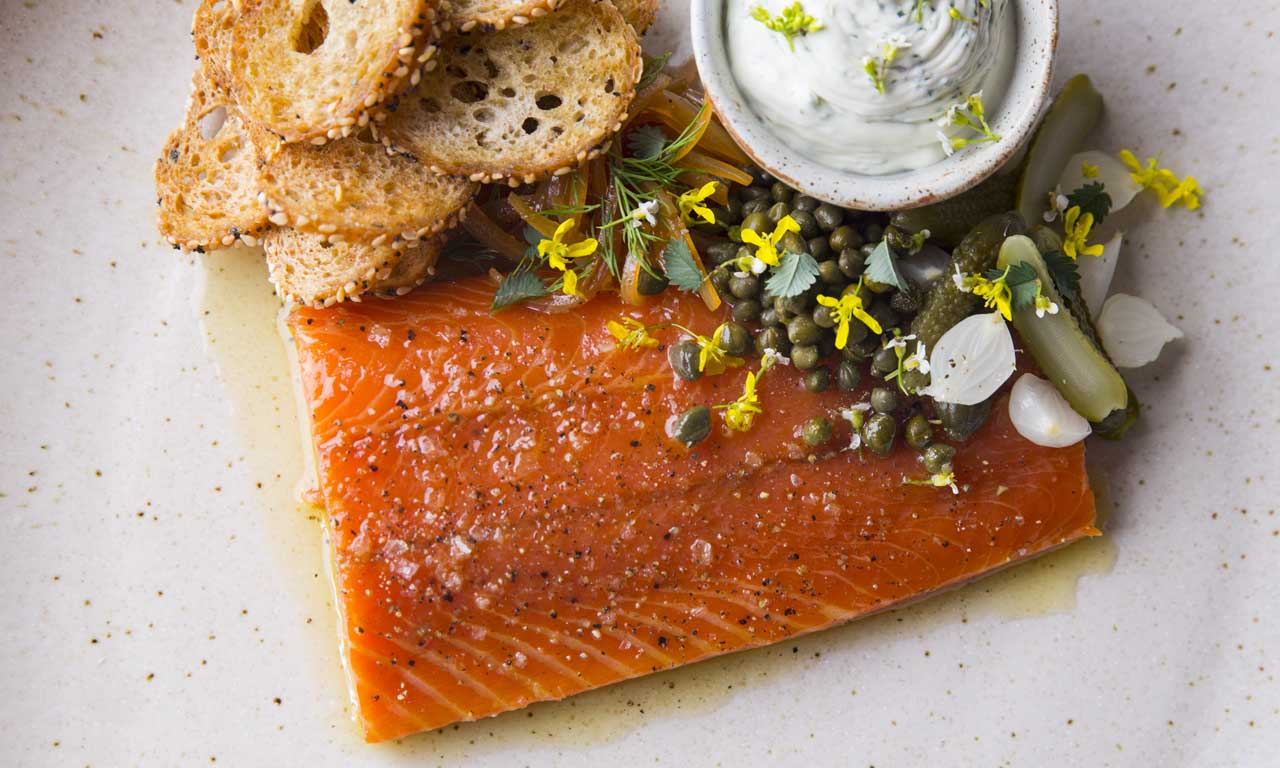 Party Time Chilled Smoked Salmon Sous Vide Recipe Chefsteps