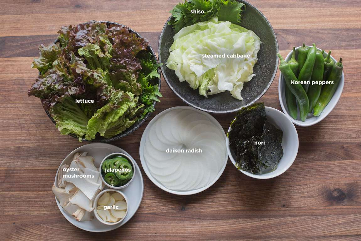 Family meal korean barbecue chefsteps wraps forumfinder Image collections