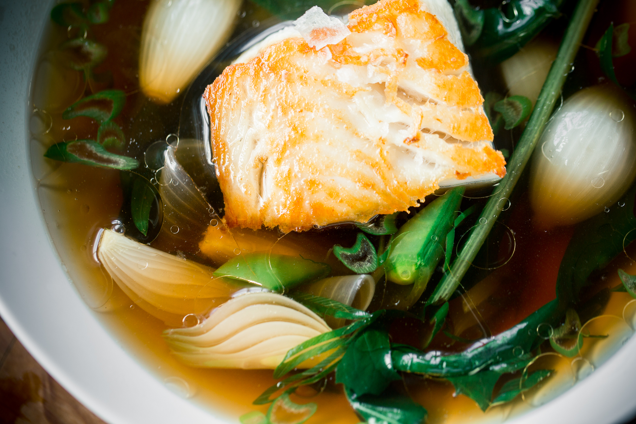 An Umami Rich Dashi And White Fish Soup You Can Make In Minutes Recipe Chefsteps