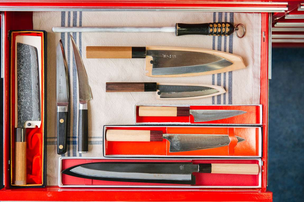 The chefsteps kitchen team shares their favorite knives
