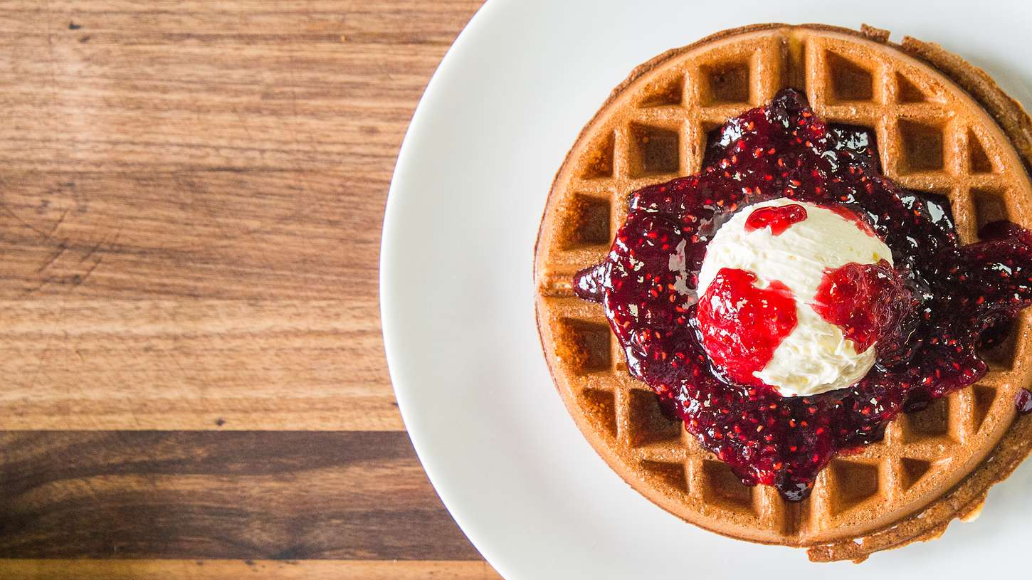 crispy yeasted waffles recipe chefsteps